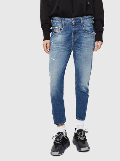Diesel - Fayza 0097B, Medium blue - Jeans - Image 1