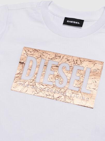 Diesel - TIRRIB-R, White - T-shirts and Tops - Image 3