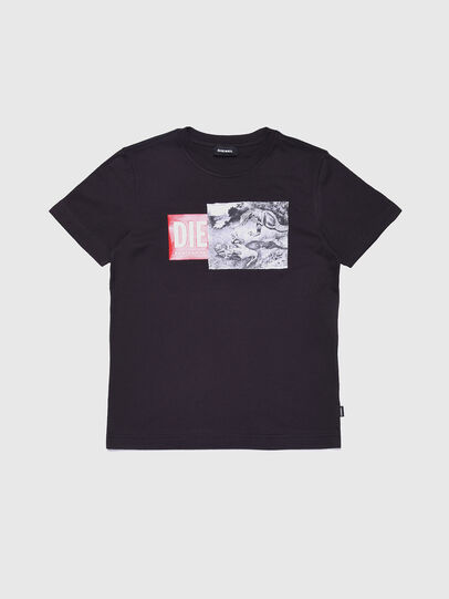 Diesel - TJUSTXH, Black - T-shirts and Tops - Image 1