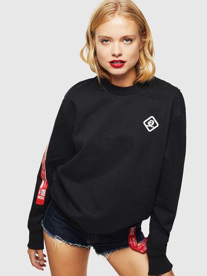 Diesel - CC-S-BAY-COLA, Black - Sweaters - Image 2