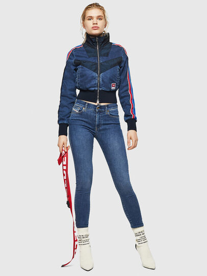 Diesel - D-Roisin 085AB, Medium blue - Jeans - Image 6