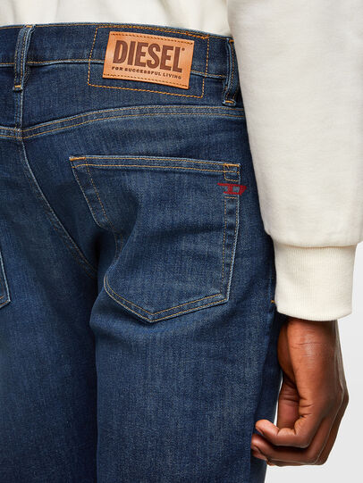 Diesel - D-Strukt 009MI, Dark Blue - Jeans - Image 4