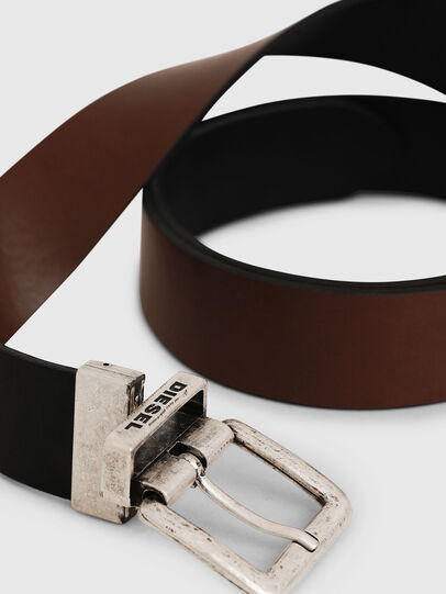 Diesel - B-DOUCKLE II, Black/Brown - Belts - Image 2