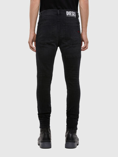 Diesel - D-Amny 009KS, Black/Dark grey - Jeans - Image 2