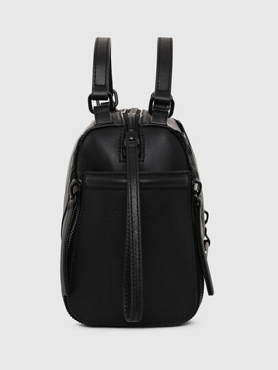 Diesel - LE-ZIPPER SATCHEL, Black - Satchels and Handbags - Image 3