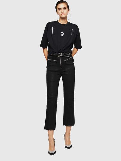 Diesel - TELIX-A, Black - T-Shirts - Image 5