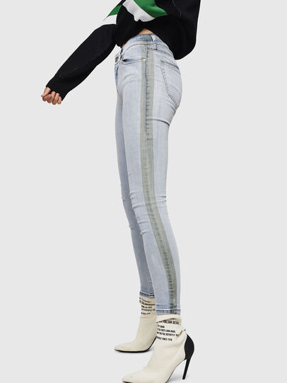Diesel - Slandy 0090E, Light Blue - Jeans - Image 5