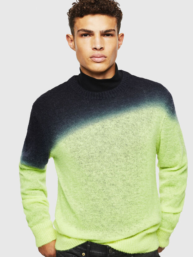 K-TREAT, Yellow Fluo - Knitwear