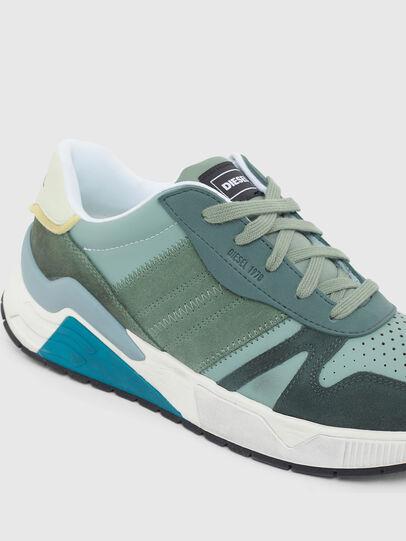Diesel - S-BRENTHA FLOW, Water Green - Sneakers - Image 4