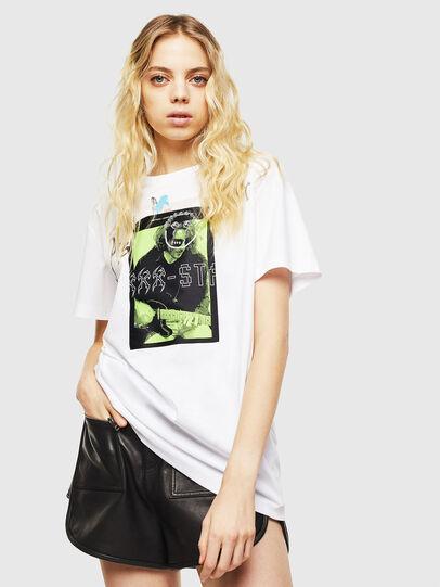 Diesel - T-DARIA-Y, White - T-Shirts - Image 1