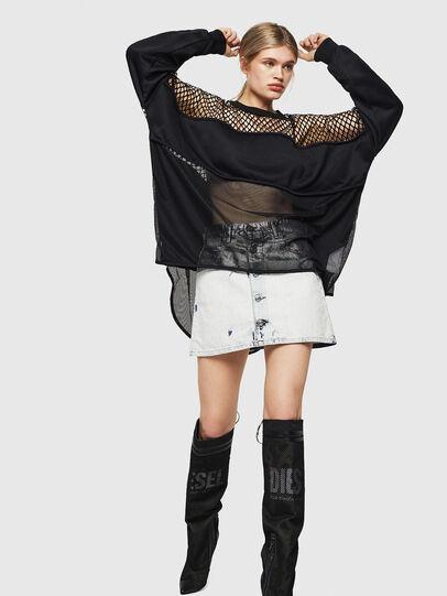 Diesel - F-SANDY-C, Black - Sweaters - Image 5