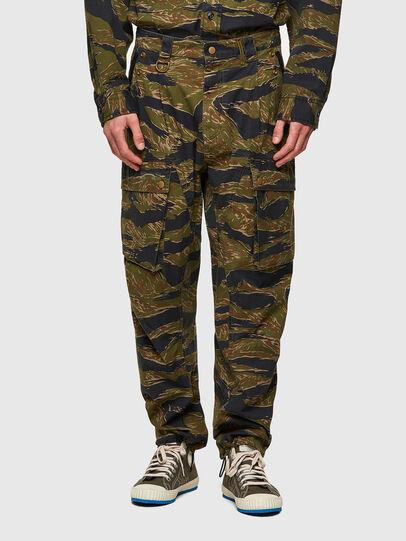 Diesel - P-BARTON, Military Green - Pants - Image 1