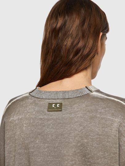 Diesel - M-CALIFORNIA, Light Grey - Knitwear - Image 4