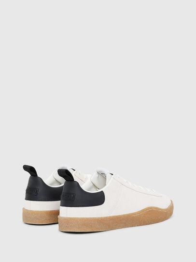 Diesel - S-CLEVER PAR LOW, White/Black - Sneakers - Image 3