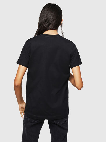 Diesel - T-SILY-ZF, Black - T-Shirts - Image 2