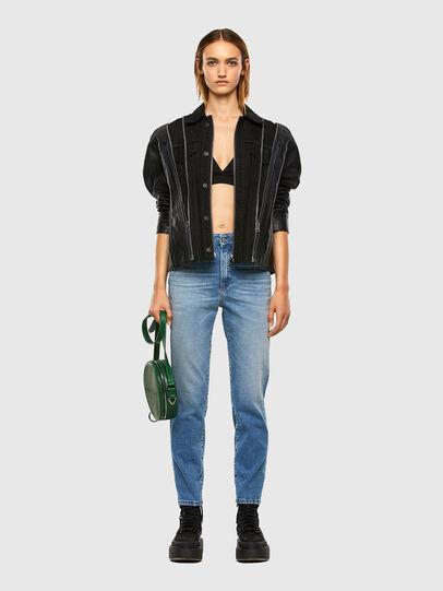 Diesel - L-LAZAY, Black - Leather jackets - Image 7