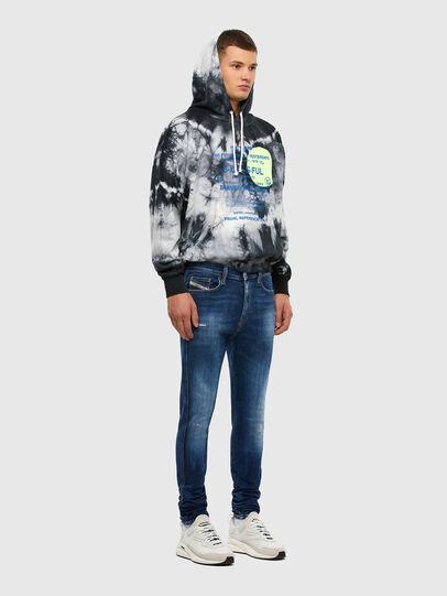 Diesel - D-Istort 009CX, Medium blue - Jeans - Image 6