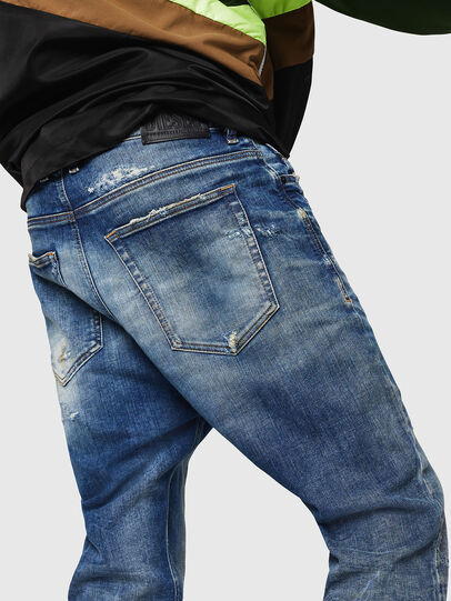 Diesel - D-Vider JoggJeans 0870Q, Medium blue - Jeans - Image 4