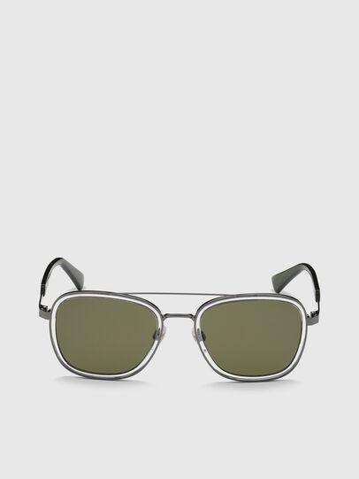 Diesel - DL0320, Green - Sunglasses - Image 1