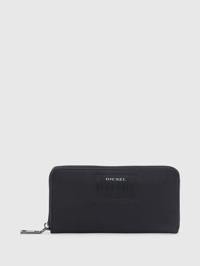 Diesel - 24 ZIP LOOP, Black - Zip-Round Wallets - Image 1