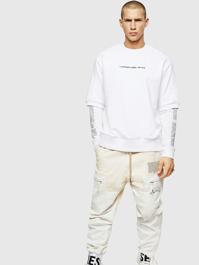 Diesel - S-MAGGY-SH-COPY, White - Sweaters - Image 5