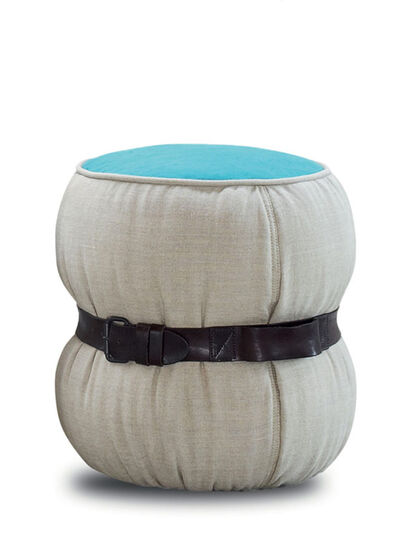 Diesel - CHUBBY POUF 45, Multicolor  - Furniture - Image 3