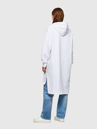 Diesel - D-ILSE-SMALLOGO, White - Dresses - Image 2