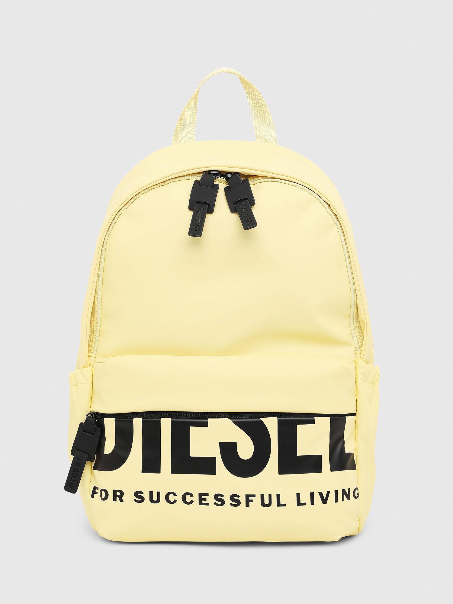 Front and Back Yellow Backpack