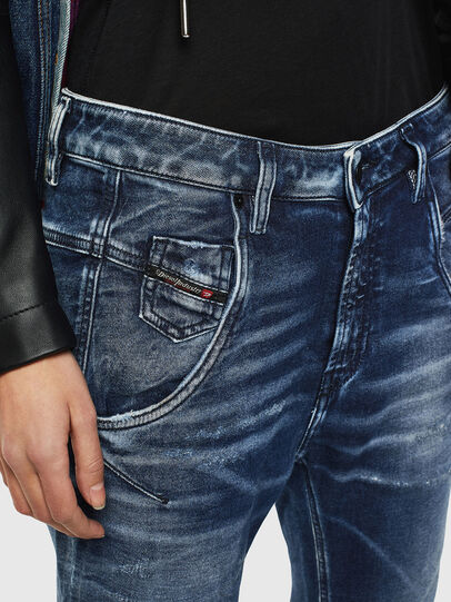Diesel - FAYZA JoggJeans® 0096M, Dark Blue - Jeans - Image 3