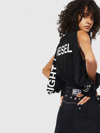 Diesel - T-ROSY, Black - T-Shirts - Image 4