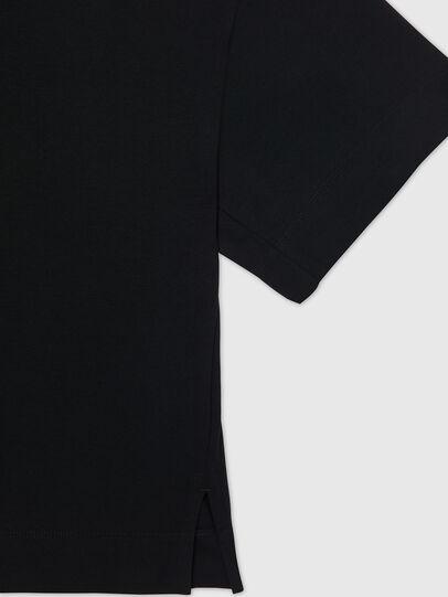 Diesel - UFTEE-SHORTEE, Black - T-Shirts - Image 4