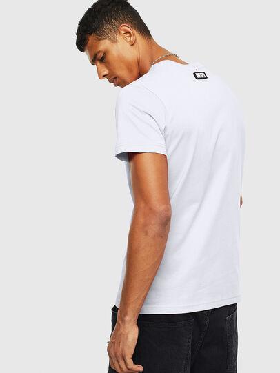Diesel - T-DIEGO-T16, White - T-Shirts - Image 2