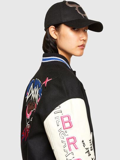 Diesel - CL-L-COHEN-O, Black - Leather jackets - Image 6