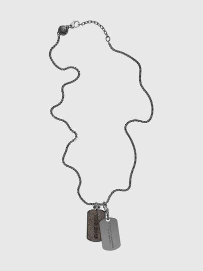 Diesel - DX1257, Silver - Necklaces - Image 1