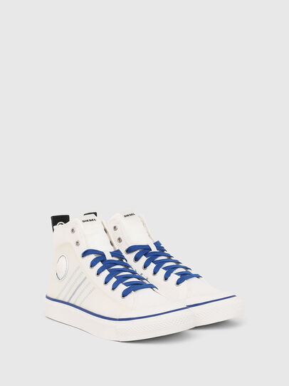 Diesel - S-ASTICO MC H, White/Blue - Sneakers - Image 2