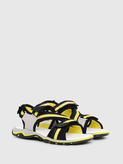 Diesel - SA 07 STRIPE YO, Gray/Black - Footwear - Image 2