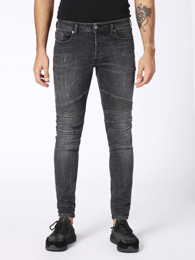 Diesel - Fourk 084NQ, Black/Dark grey - Jeans - Image 1