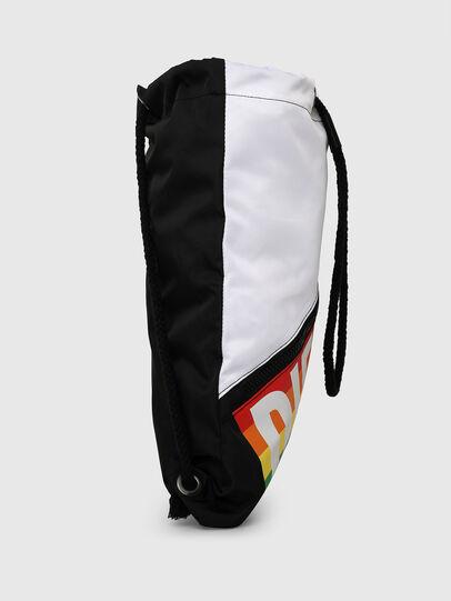 Diesel - BBAG-SACK-P, Black/White - Beachwear accessories - Image 3