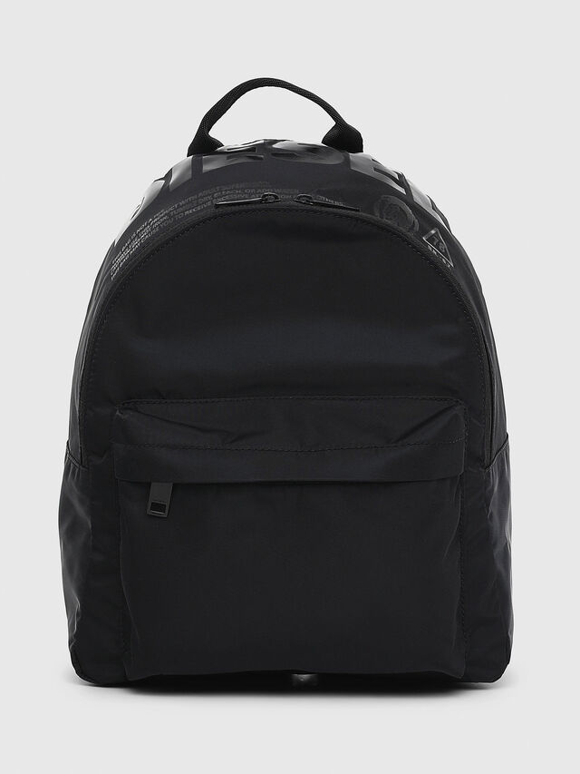 Diesel - F-SUSE BACK, Black/Yellow - Backpacks - Image 1