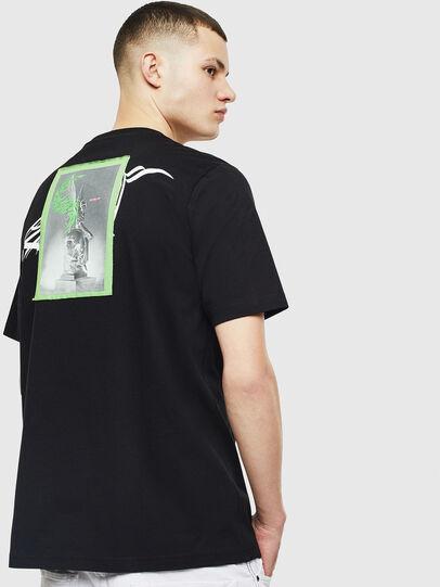 Diesel - T-JUST-T11, Black - T-Shirts - Image 2