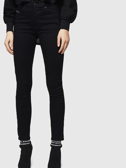 Diesel - D-Roisin 069EF, Black/Dark grey - Jeans - Image 1