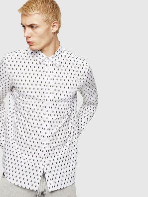 S-VEN-SKULL, White - Shirts
