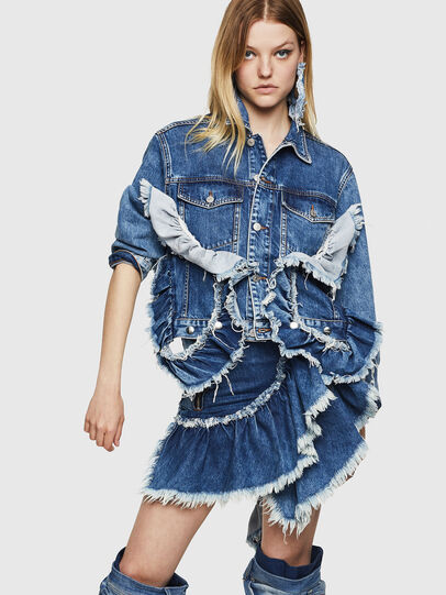 Diesel - DE-ABBY,  - Denim Jackets - Image 7