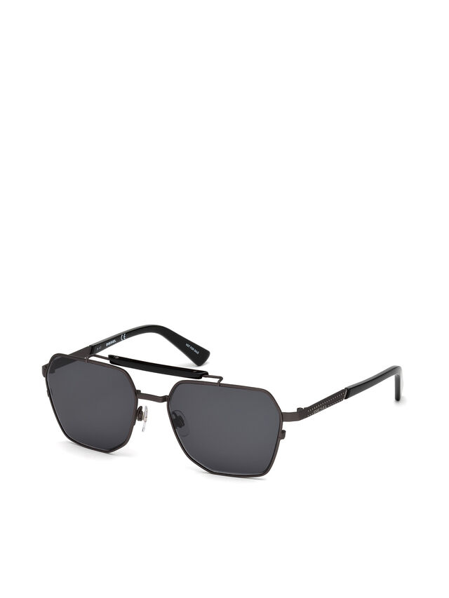 Diesel DL0256, Black - Eyewear - Image 2