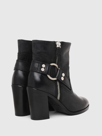 Diesel - D-FLAMINGO ABZ, Black - Ankle Boots - Image 3