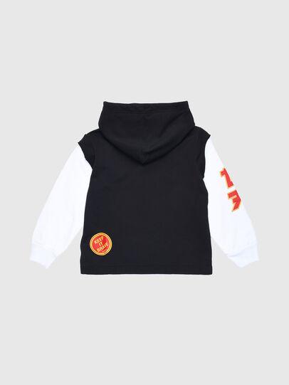 Diesel - SDRIVELSXA OVER, Black/White - Sweaters - Image 2