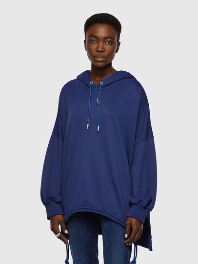 Diesel - F-JUSTINA, Dark Blue - Sweaters - Image 1