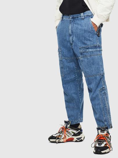 Diesel - D-Luks 009CL, Light Blue - Jeans - Image 6