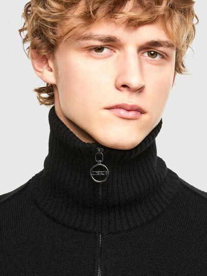 Diesel - K-GABY, Black - Knitwear - Image 3