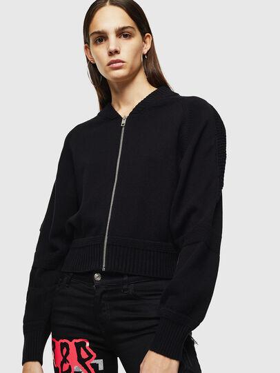 Diesel - M-TESY, Black - Knitwear - Image 1